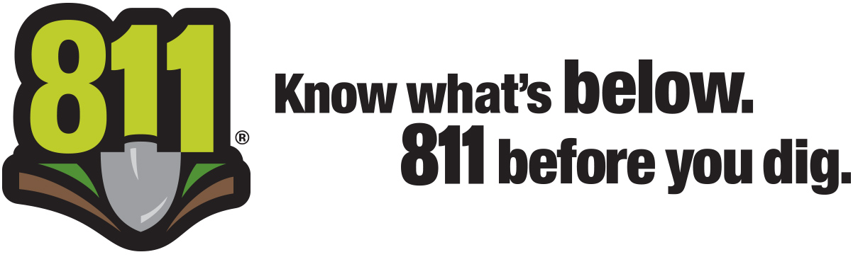 Know what's below. 811 before you dig
