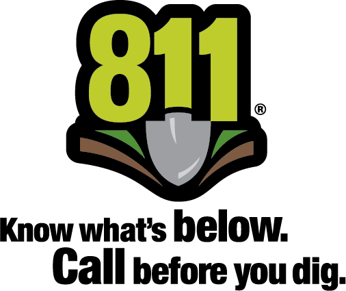 811 Konw what's below. | Call before you dig.