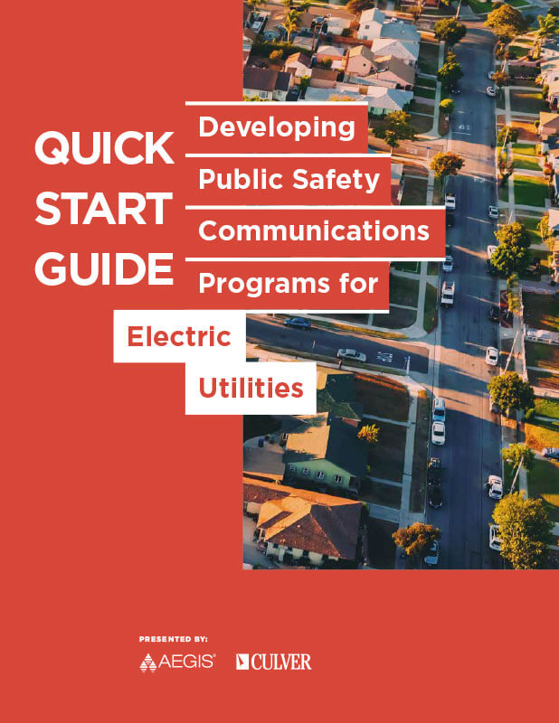 AEGIS Quick Start Guide: Developing Public Safety Communications for Electric Utilities